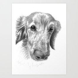 Dogface Art Print