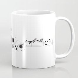 Splatter in D Minor Coffee Mug