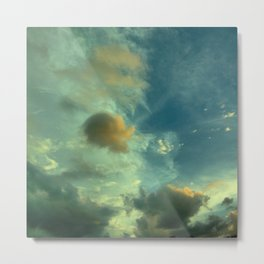 This is not a watercolor Metal Print