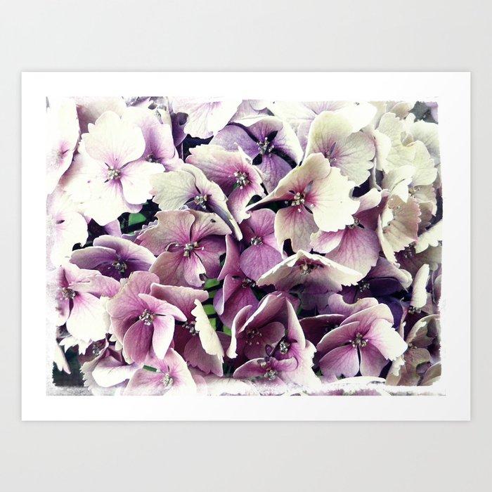 Fleur Romantique Art Print By Lescrasdegaa Society6