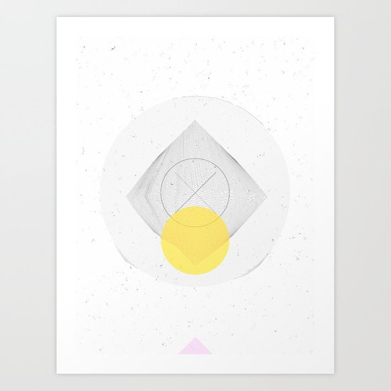 For the Love of CAD Art Print