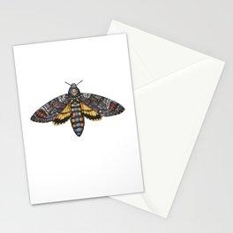 African Death's Head Hawkmoth (Acherontia atropos) Stationery Cards