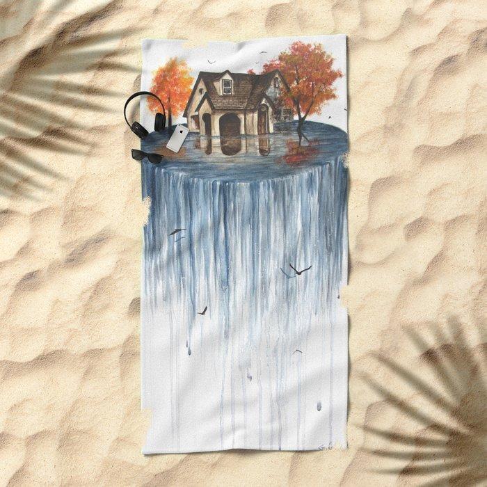 The Flood Beach Towel