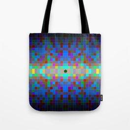 Momo pixel Tote Bag