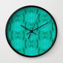 treeangles Pattern Wall Clock