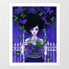 Litonya Art Print
