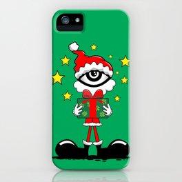 Eye Christmas II iPhone Case
