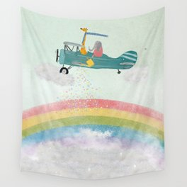 creating rainbows Wall Tapestry
