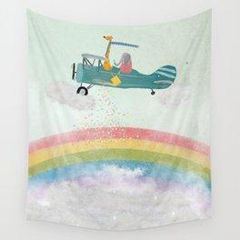 creating rainbows Wall Tapestry