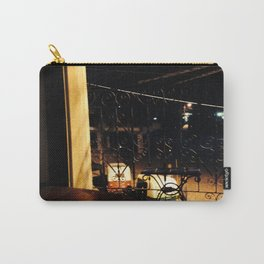 Silent Night By Window-Light Carry-All Pouch