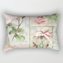 Belles Fleurs I Rectangular Pillow