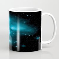 constellation Mugs featuring Constellation by 2sweet4words Designs