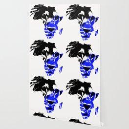 Africa Lion :Blue Wallpaper