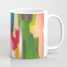 180812 Abstract Watercolour Expressionism 3| Colorful Abstract | Modern Watercolor Art Coffee Mug
