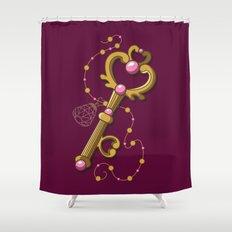 Chibiusa Time Key - Sailor Moon Shower Curtain