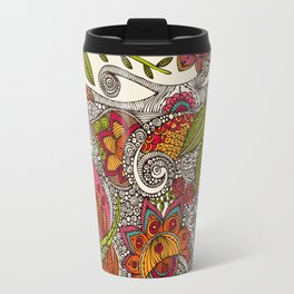 Random Flowers Travel Mug