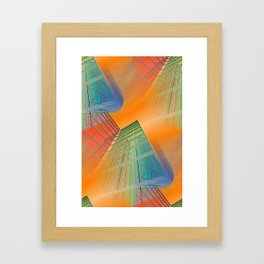 citylines -4- Framed Art Print
