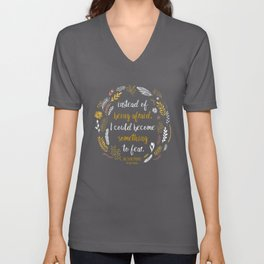 The Cruel Prince Quote Holly Black Unisex V-Neck