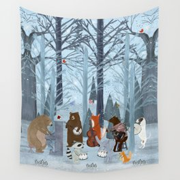 little nature symphony Wall Tapestry