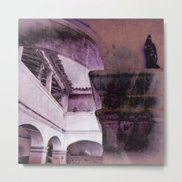 inception violet Metal Print