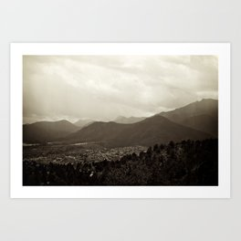 Colorado Springs, Colorado Art Print