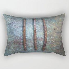 Three Nails Rectangular Pillow