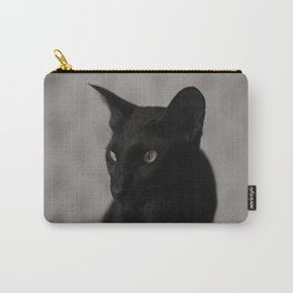 Oriental black cat Carry-All Pouch