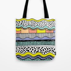 NATIVE WAVES Tote Bag