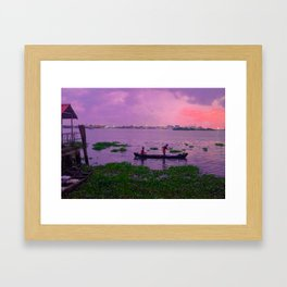 Waters of Kochi Part 1 Framed Art Print