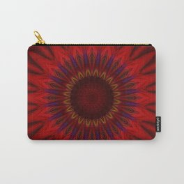 Mandala red power Carry-All Pouch