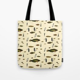 Fishing and Lures  Tote Bag