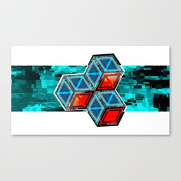 Pixel Canvas Print