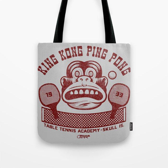 King Kong Ping Pong Tote Bag