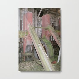 Abandoned Mill Metal Print