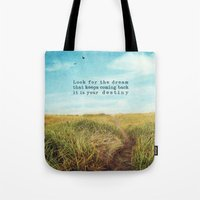 destiny Tote Bags featuring destiny by Sylvia Cook Photography