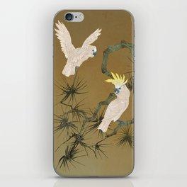 Wild Cockatoos iPhone Skin