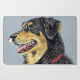 Dog Portrait 01 Cutting Board