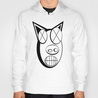 pig Hoodies featuring pig. by azyxz