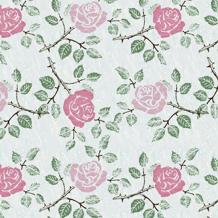 Rose Print Leggings
