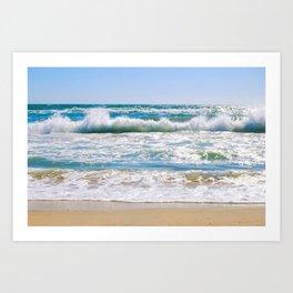 Surf City, CA Art Print