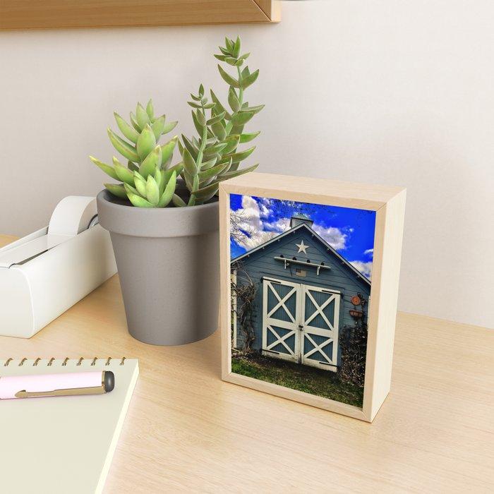 Farm Shed (c) Framed Mini Art Print