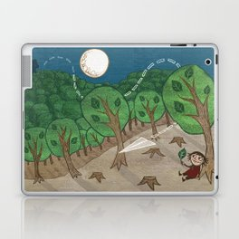 The little big forest Laptop & iPad Skin