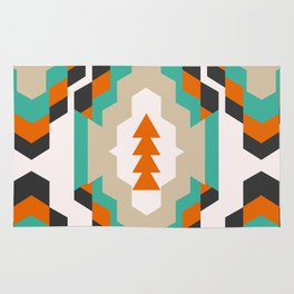 Ethnic Christmas pattern Rug