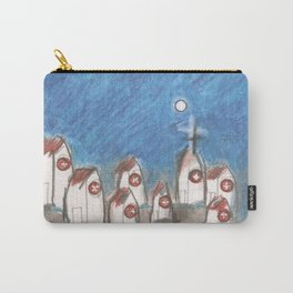 White Church Carry-All Pouch