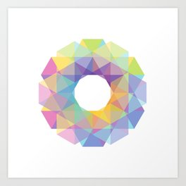 Fig. 036 Colorful Circle Art Print