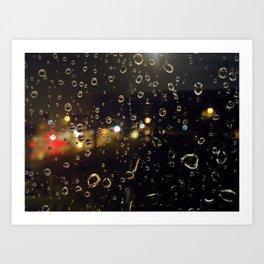 Drips & Drops Art Print
