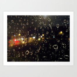 Drips & Drops Art Print
