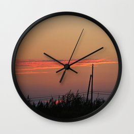 With my Wings comes Freedom Wall Clock