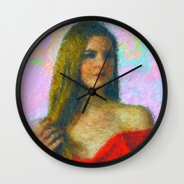 Pop Star Wall Clock