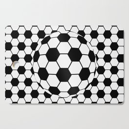 Black and White 3D Ball pattern deign Cutting Board